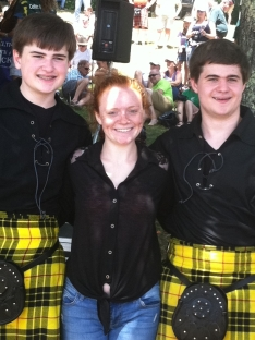Mary Beth McQueen and the boys